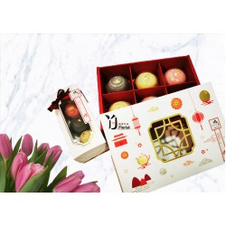 24k金箔月饼礼盒 24k Gold Mooncake Gift's Box (6pc)