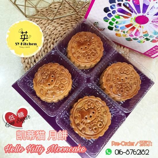 凯蒂猫月饼 Hello Kitty Traditional Baked Mooncake